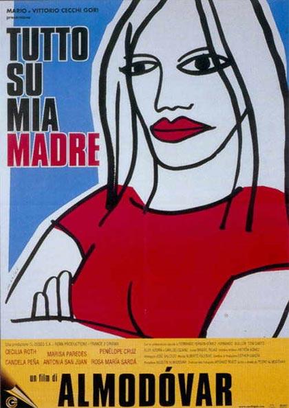 Locandina italiana Tutto su mia madre