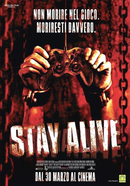 Locandina italiana Stay Alive