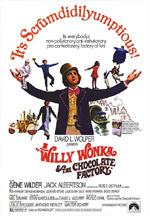 Locandina Willy Wonka e la fabbrica di cioccolato