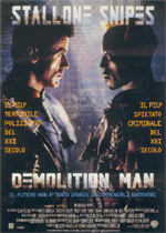 Locandina Demolition Man