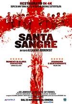 Locandina Santa sangre - Sangue santo