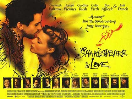 a review of the film shakespeare in love Shakespeare in love analysis in this media assignment, i will be looking at and interpreting the film shakespeare in love although at first the film looks to be fairly normal, there are subtle things, which generally make it more appealing to us.