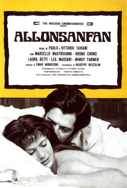 Locandina italiana Allonsanfan