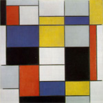 Locandina Piet Mondrian - La realtà dell'astrazione