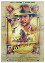 Locandina Indiana Jones e l'ultima crociata