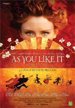 Locandina As You Like It (Come vi piace)