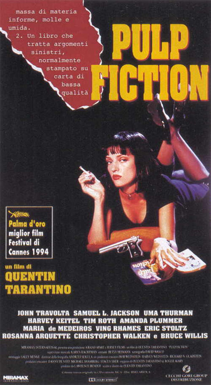 Guarda gratis Pulp Fiction in streaming italiano HD