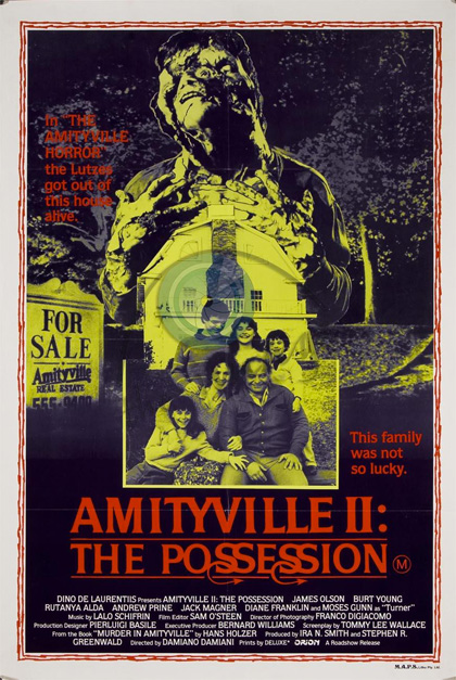 Trailer Amityville possession