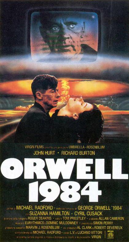 Locandina Orwell 1984