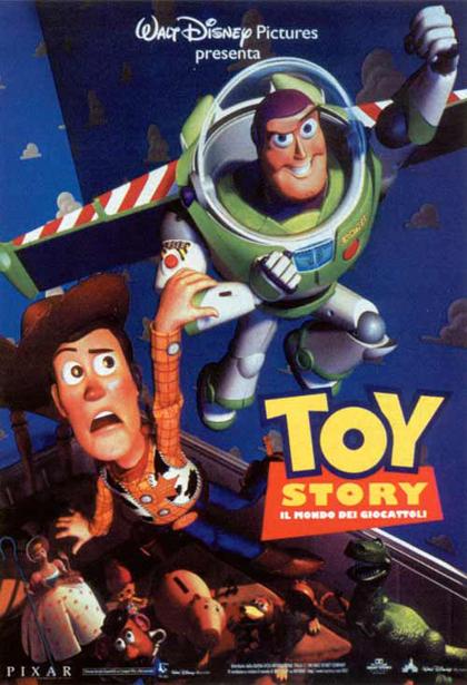 Locandina Toy Story – Il mondo dei giocattoli