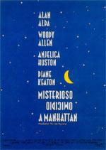 Locandina Misterioso omicidio a Manhattan