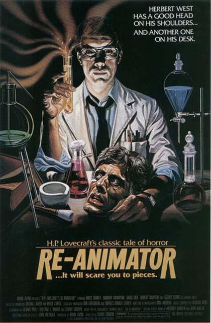 Poster Re-animator