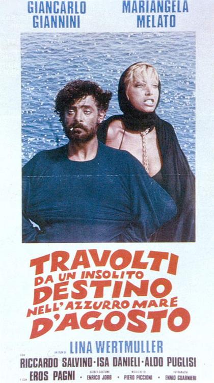 Travolti da un insolito destino nell'azzurro mare d'agosto (G. Giannini, M. Melato)