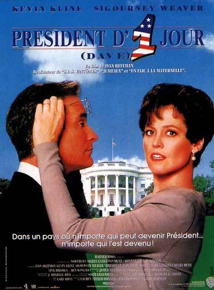 poster 1 dave presidente per un giorno