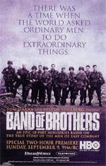 Locandina Band of Brothers - Fratelli al fronte
