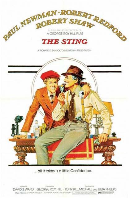 Poster La stangata