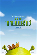Locandina Shrek terzo