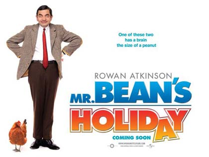 Poster Mr. Bean's Holiday