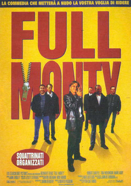 a review of the movie the full monty Movie reviews for the full monty mrqe metric: see what the critics had to say and watch the trailer.