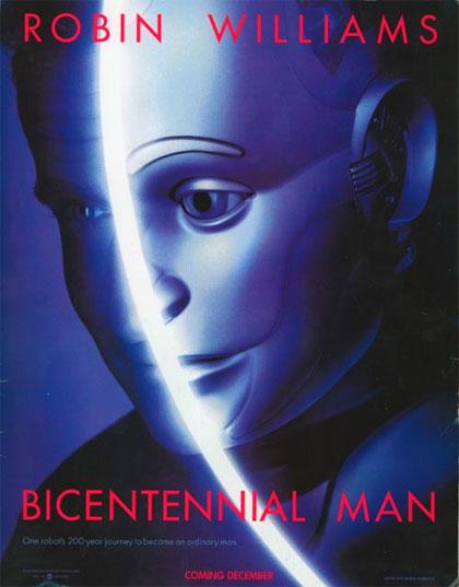 Locandina italiana L'uomo bicentenario