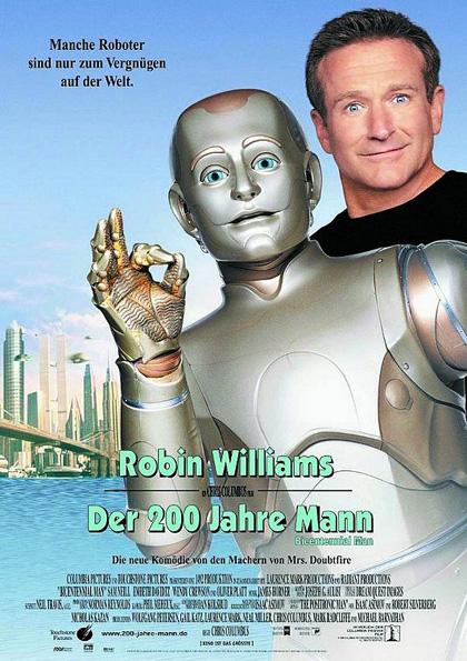 Poster L'uomo bicentenario
