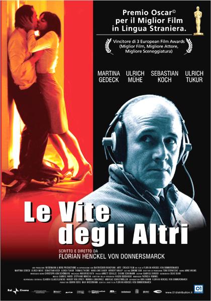 Locandina italiana Le vite degli altri