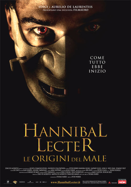 Guarda in streaming Hannibal Lecter – Le origini del male e scarica il Torrent ITA