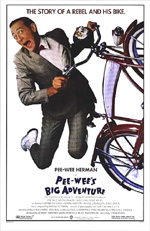 Locandina Pee-Wee's Big Adventure