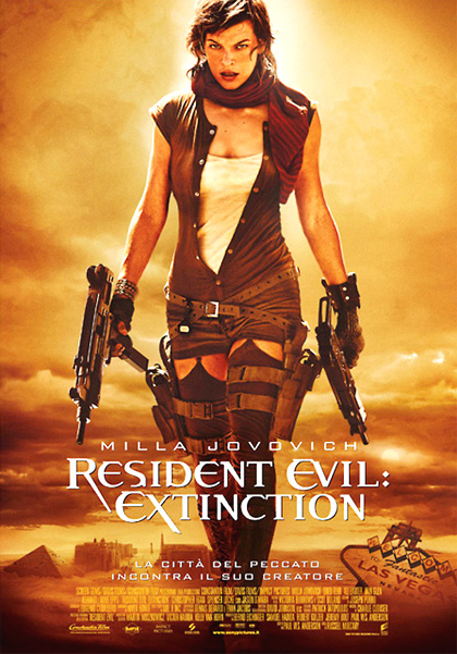 Locandina Resident Evil: Extinction