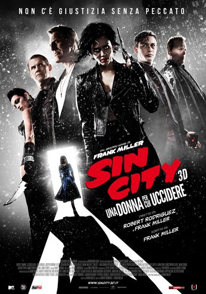 Locandina italiana Sin City - Una donna per cui uccidere