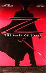 Locandina La maschera di Zorro