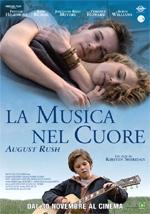 Locandina La musica nel cuore - August Rush
