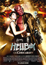 Locandina Hellboy - The Golden Army