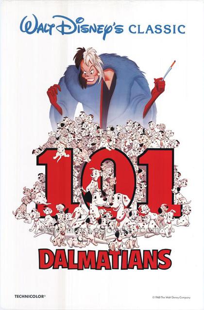 Locandina La carica dei 101