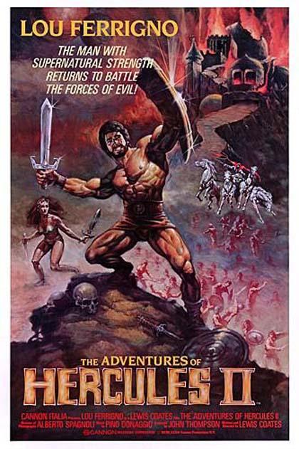 Poster Hercules 2