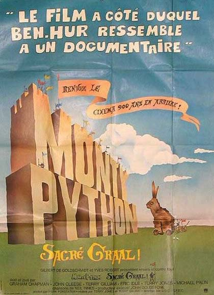 Locandina italiana Monty Python