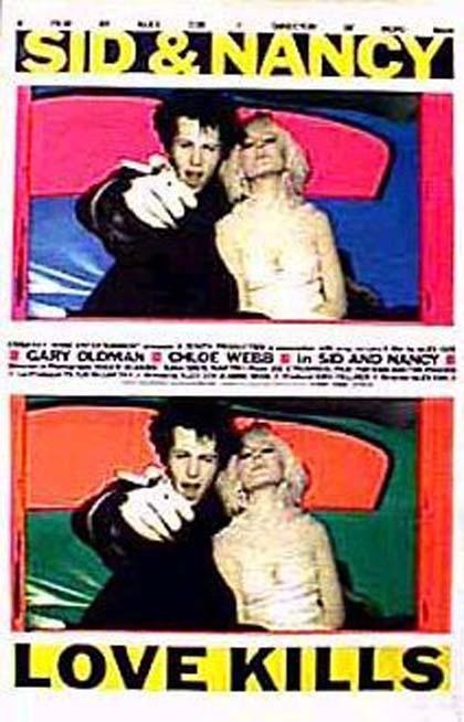 Locandina italiana Sid e Nancy