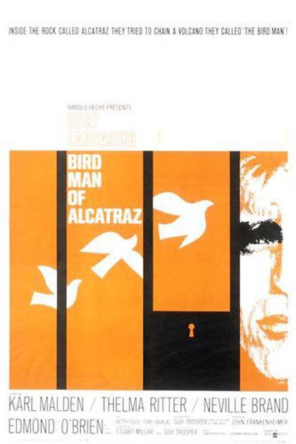 Locandina L'uomo di Alcatraz