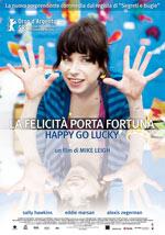 Locandina La felicità porta fortuna - Happy Go Lucky