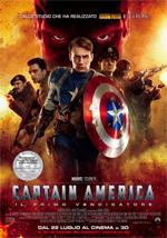 Locandina Captain America: Il primo vendicatore
