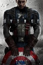 Poster Captain America: Il primo vendicatore  n. 1
