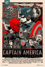 Poster Captain America: Il primo vendicatore  n. 10
