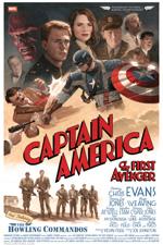 Poster Captain America: Il primo vendicatore  n. 2