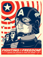 Poster Captain America: Il primo vendicatore  n. 6
