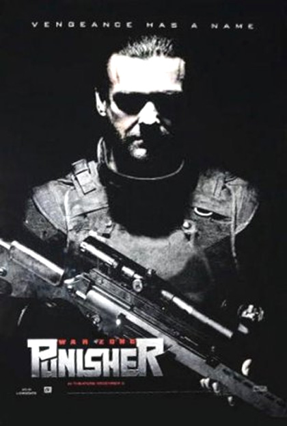 Poster Punisher: War Zone