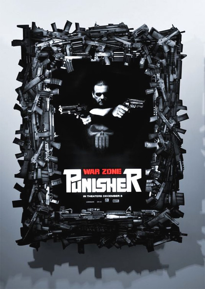 Poster Punisher: Zona di guerra