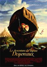 Locandina italiana Le avventure del topino Despereaux