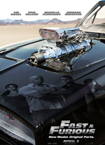 Poster Fast & Furious - Solo parti originali  n. 3
