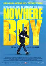 Locandina Nowhere Boy