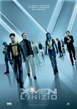 Locandina italiana X-Men: L'inizio